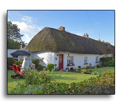 Thatched roof in Adare